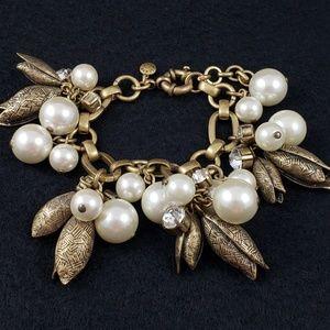 J. Crew Jewelry - J. Crew Flower Bud Statement Bracelet